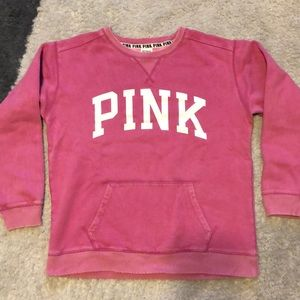PINK VS - Distressed Sweatshirt